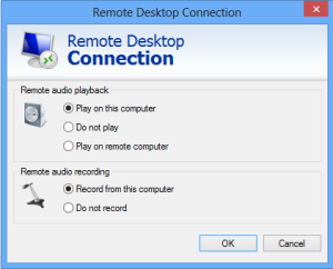 Setting Remote Audio Playback and Recording